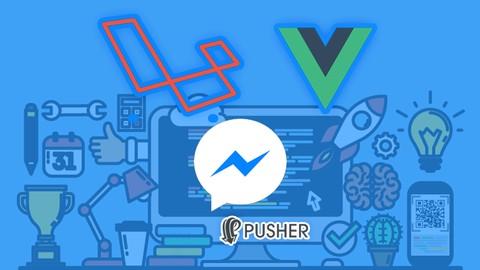 Realtime Messenger usando Laravel, Vue, Bootstrap 4 y Pusher