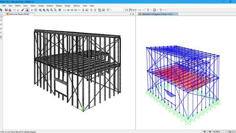 Sap2000:  Calculo y diseño de estructuras en steel framing.