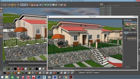 Aprende a renderizar en Cinema 4D
