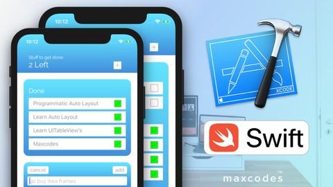Code a Swift iOS To Do List App, UIKit, CoreData, Table View