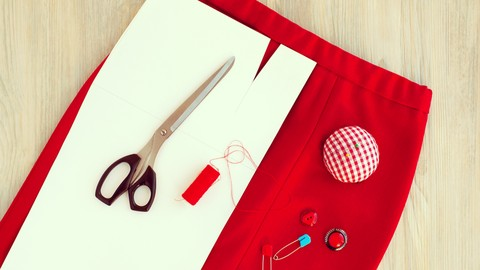 Netcurso-how-to-make-a-6-piece-skirt-with-no-patterns-freehand