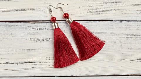 Netcurso-how-to-make-creative-tassel-earrings-and-lapel-pins