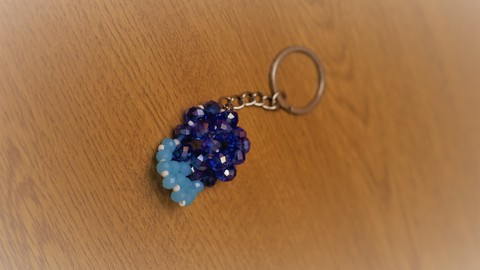 How to make a Beaded Baseball Cap Key chain and a Bow Ring