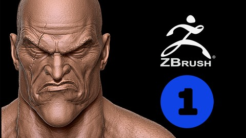 Creating characters for video games on Zbrush- Kratos Vol 1