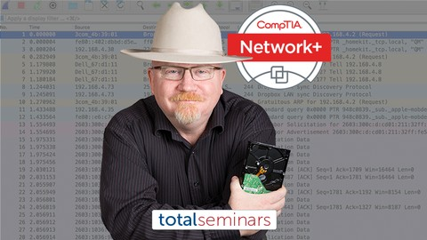 TOTAL: CompTIA Network+ Certification (N10-007)