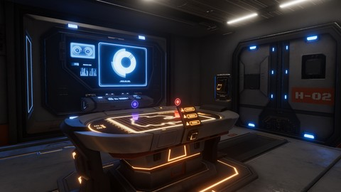 Sci-Fi 3D Game Environment Design Modeling & Texturing