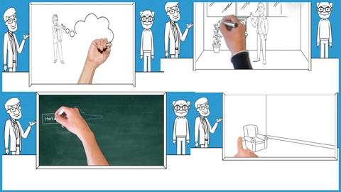 Be The King of White Board Animation