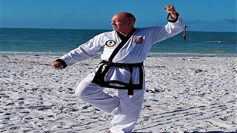 Karate; Tang Soo Do Techniques & Forms - Beginner Part Two