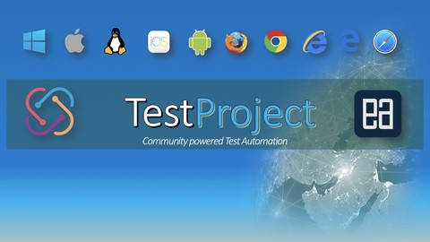 Automating Web/Mobile/API applications with TestProject