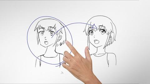 Netcurso-improve-anime-drawings-with-leonardo-davinci-method