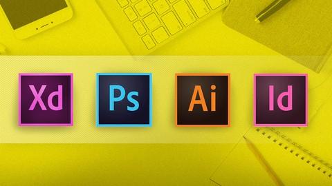 Adobe CC Masterclass: Photoshop, Illustrator, XD & InDesign