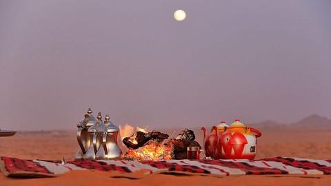 Prepare a healthy desert  tea