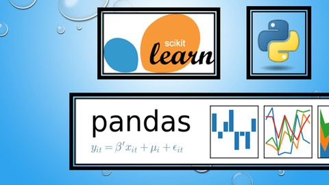 Pandas and Scikit-learn For Data Analysis & Machine Learning