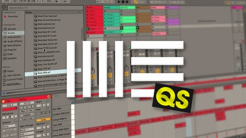 Netcurso-learn-ableton-live-10-lite-free-quick-start-beginners-course