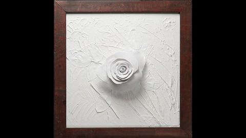 Joy of Acrylic Painting_China Rose II