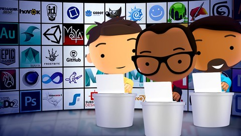 How to become a Game Artist, Designer, or Developer!