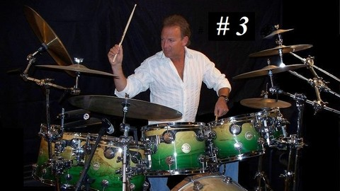 Beginning  Drum Lessons with ULTIMATE DRUMMING 16th R&R #3 - Resonance School of Music
