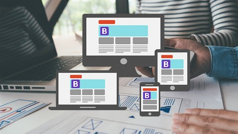 Bootstrap v4.3 Fast Crash course + Landing Page Project