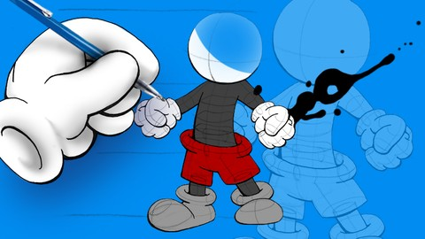 Netcurso-cartoon-drawing-for-the-absolute-beginner