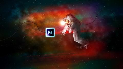Space Explorer-Photo Composite Photo Manipulation Photoshop Coupon
