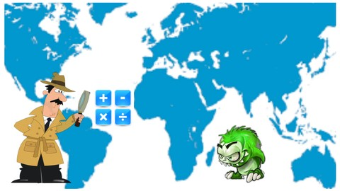 Travel Game for Kids Geography Math