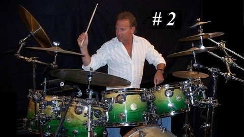 Beginning Drum Lessons with ULTIMATE DRUMMING 8th Fills #2