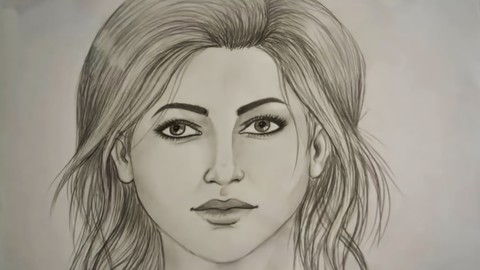 Learn How to Draw the Face for Beginners by simple Steps