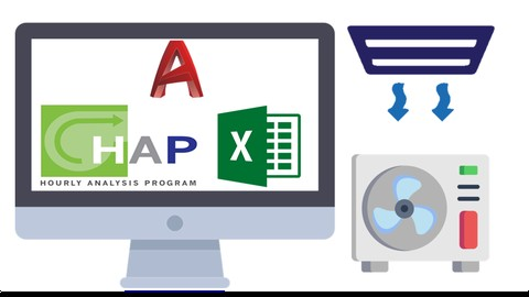HVAC (PART1) with HAP Excel AutoCAD Manual Calculations