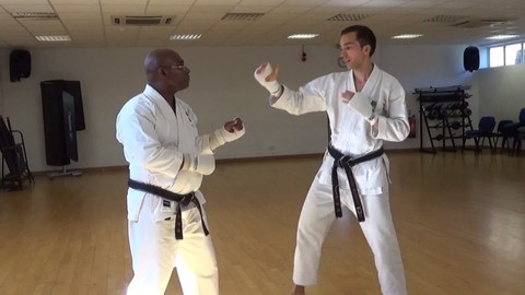 Karate Training for Sparring with Confidence