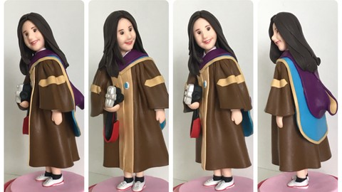 Polymer Doll Making, Craft and Sculpting Character Art Doll.
