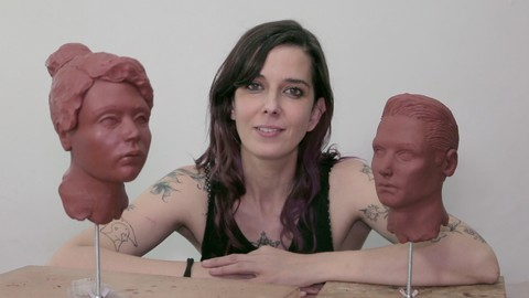 How to sculpt the human head (male and female)