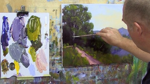 Free Painting Tutorial - Learn To Paint - Oil Painting & Acrylic Painting Free Course