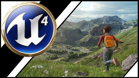 Unreal Engine 4:  Level Design with Landscapes
