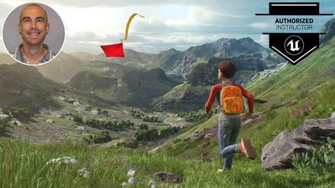 Unreal Engine:  Open World Landscapes