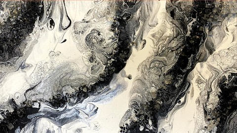 ACRYLIC FLOW GEODES Acrylic Abstract Painting for Beginners