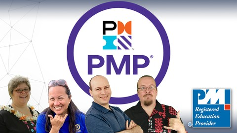 PMP: The Complete PMP Course & Practice Exam PMI PMBOK 6 '21