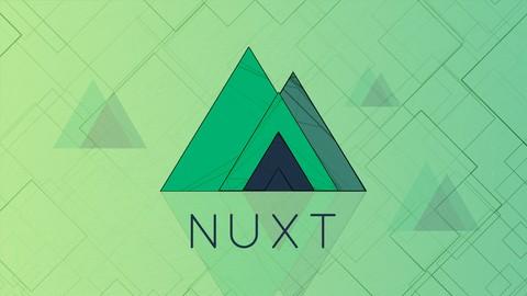 The Complete Nuxt. js & Vue. js Course Self Promo App