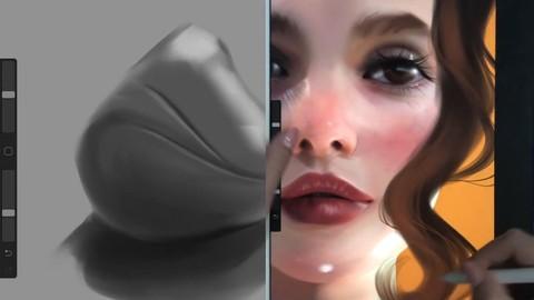 Artistic Digital Portrait Painting