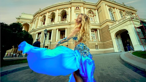 Learn How to Belly Dance: Technic and Сombinations