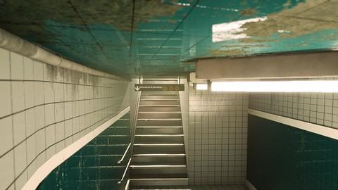 Netcurso-create-a-subway-scene-in-unreal-engine-4