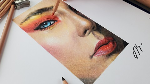 The Colored Pencils Drawing Masterclass: Draw Amazing Art