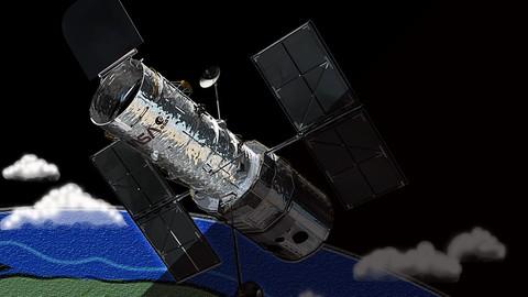 Netcurso-astronomy-how-does-hubble-telescope-work