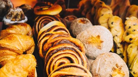 Pro Baking Pastry Desserts: Buns, Croissants & Schneck.
