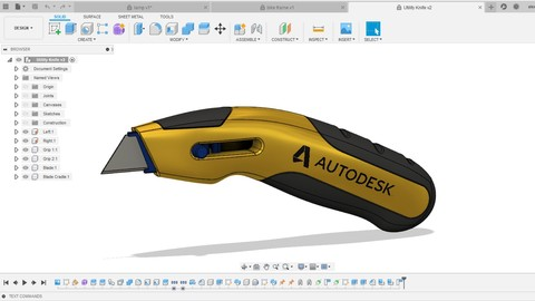3d printing and designing with Fusion 360: Beginner to Pro