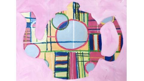 Netcurso-acrylic-painting-with-diamond-reductive-painting