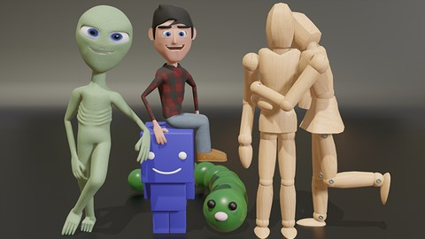 Ultimate Blender 3D Character Creation & Animation Course