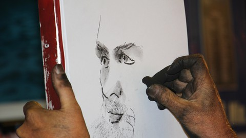 Introduction to charcoal drawing