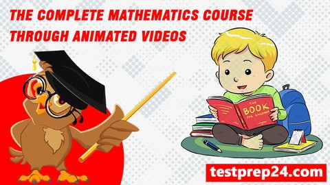Image for course Complete Mathematics/Math Course through Animated videos2021