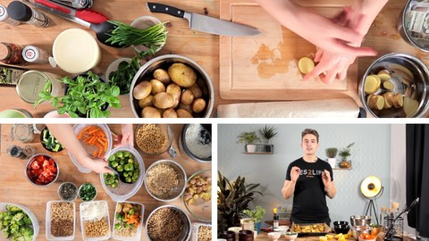 The Ultimate Vegan Meal Prep Course