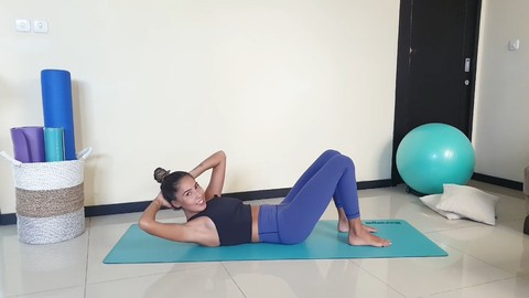 Free Pilates Tutorial - 7 Days Pilates Challenge: 15 mins x 7 Days